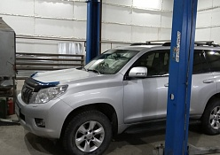 Портфолио Ремонт генератора Toyota Land Cruiser Prado 150