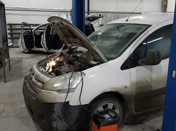 Портфолио Ремонт генератора Citroen Berlingo
